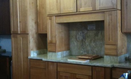 american maple cabinets